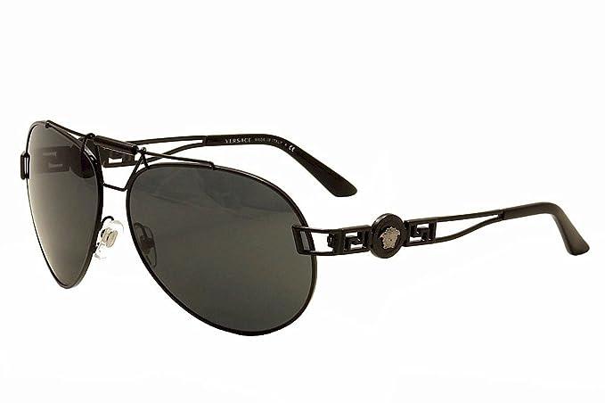 Versace 0Ve2160 Gafas de sol, Black, 63 para Mujer: Amazon ...