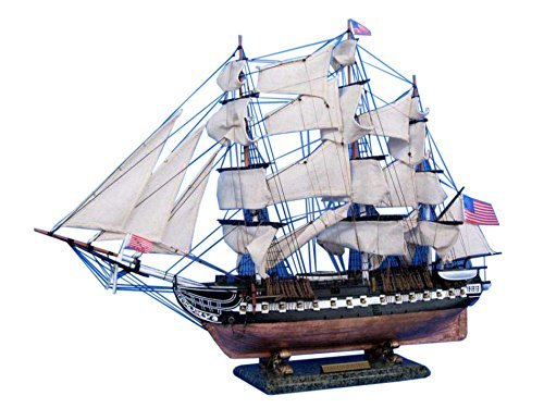 USS Constitution Limited 30 - Tall Ship Model - Wooden Model Ship - US Naval Warship