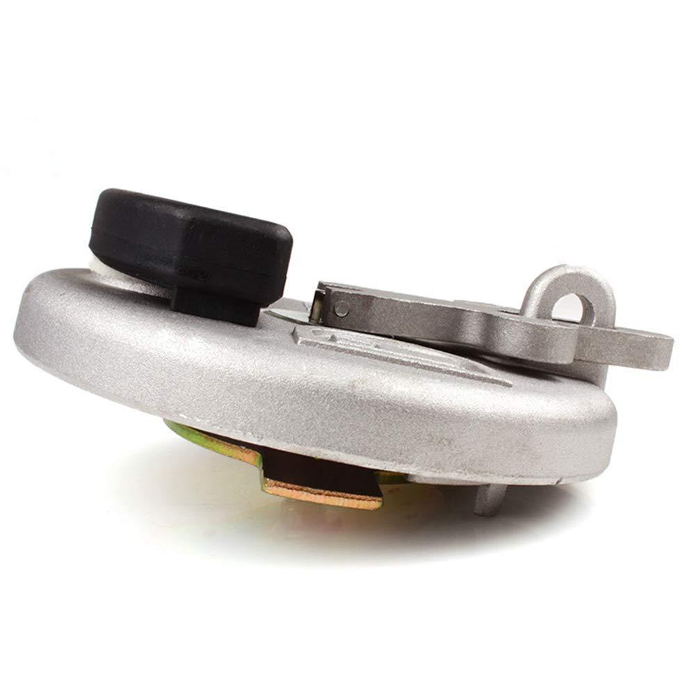Ganquer Collision Resisitant Tappo Serbatoio Carburante Durevole Escavatore Strumenti per Caterpillar Argento Free Size