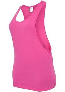 2cf2f163d350f5 Urban Classics Damen Sport T-Shirt Ladies Loose Tanktop: Amazon.de ...