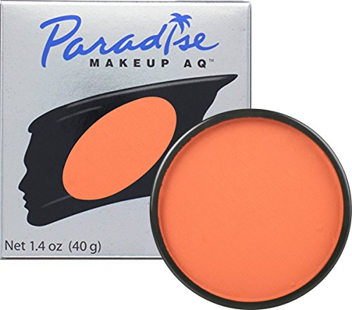Mehron Makeup Paradise Makeup AQ Face & Body Paint (1.4 oz) (Foxy)