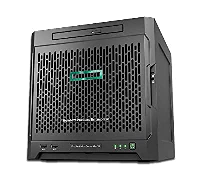 MicroServer Gen10 Tower Server for Business, AMD Opteron X3216 up to 3.0GHz, 8GB RAM, 4TB Storage, RAID, 3 Years Warranty