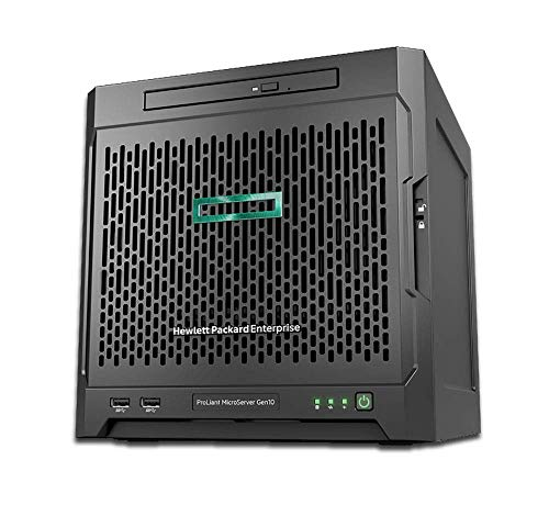 HP MicroServer Gen10 Tower Server for Business, AMD Opteron X3421 up to 3.4GHz, 32GB RAM, 8TB Storage, RAID, Windows Sever 2019, 32GB, 8TB HDDs, Windows 2019 (Best Windows Home Server)