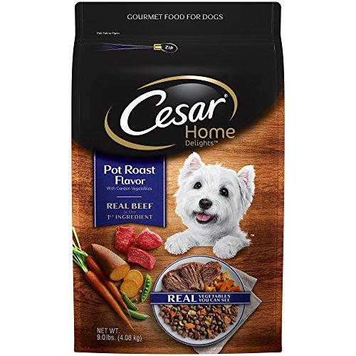 Cesar Home Delights Dry Dog Food Pot Roast Flavor With Garden Vegetables, 9 Lb. Bag