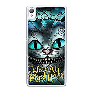 Sony Xperia Z3 Phone Case We Are All Mad Here Case Cover 7-PP026811
