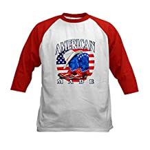 Royal Lion Kids Baseball Jersey US American Flag Country Cowboy Boots