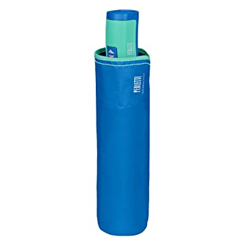 Paraguas Plegable Mujer - Mini Paraguas Compacto Antiviento y Ligero - Resistente con Tratamiento Teflon - Apertura y Cierre automático - Diámetro 98 cm ...