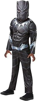 Rubies - Disfraz de Black Panther de gran calidad para niño, I ...