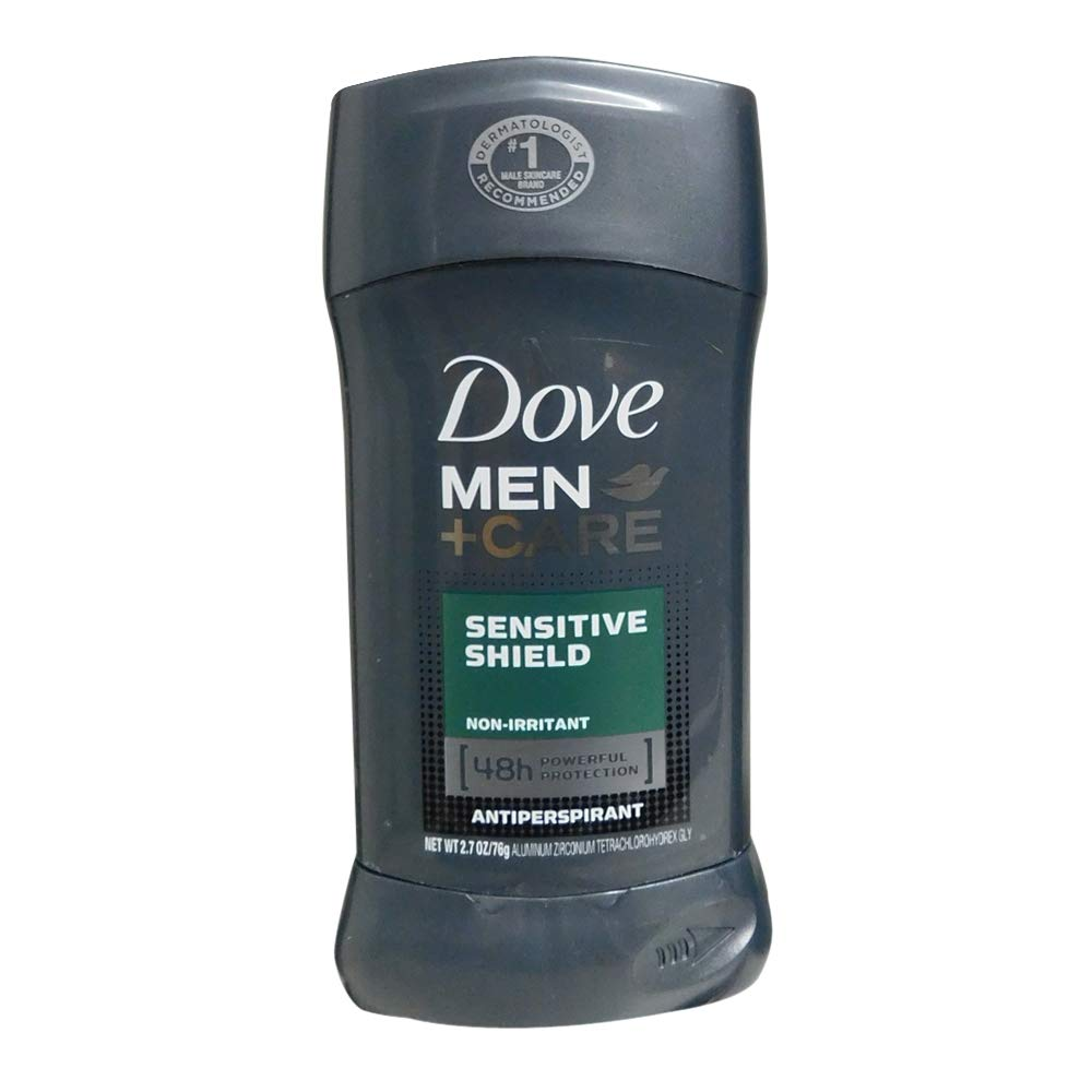 Dove Men+Care Antiperspirant Stick, Sensitive Shield, 2.7 Ounce (Pack of 2)