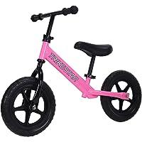 "Trike Star 12"" Ultra Lightweight Balance Bike, Pink"