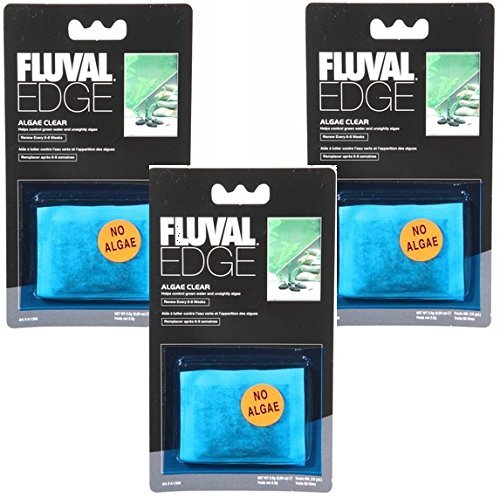 Fluval Edge Algae Cleaner, 0.09 Ounce (3 Pack) ()