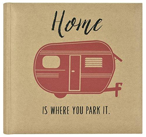 MCS Home is Where You Park It Photo Album, 8.5 x 8.5, Blue