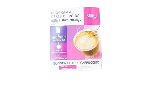 milical LCD bebida Cappuccino 1 bolsita almuerzo: Amazon.es: Salud ...