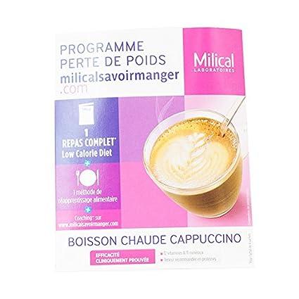 milical LCD bebida Cappuccino 1 bolsita almuerzo