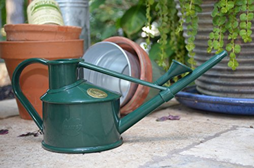 Bosmere V127GR Haws Indoor Plastic 700 ml Watering Can, Green