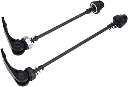 2pcs Cycling Accessories Bicycle Hubs Axle Aluminum Alloy MTB Part Skewer