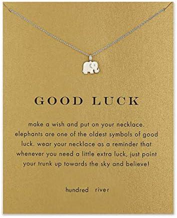 Hundred River Elephant Necklace Birthday product image