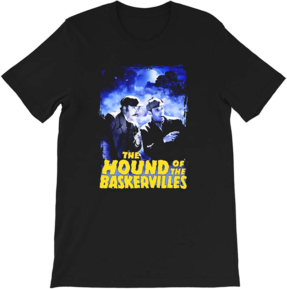 Sherlock Holmes The Hound of The Baskervilles Film Dr Watson Nigel Bruce Funny Gift for Men Women Girls Unisex T-Shirt