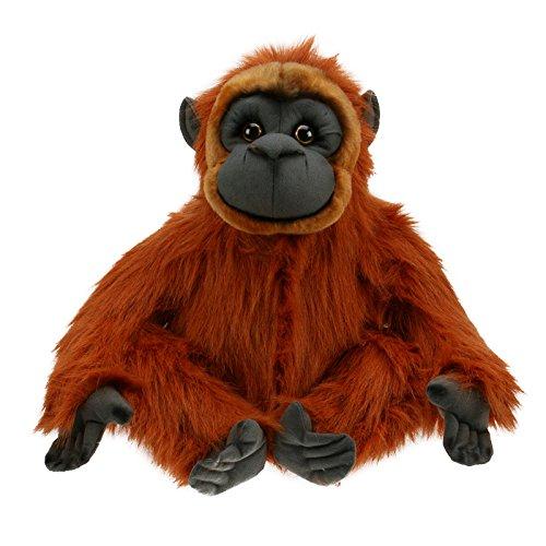 Kuscheltier Orang-Utan - von STEINER - Kuscheltier handgefertigt in Deutschland