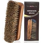 TAKAVU Horsehair Shoe Shine Brush
