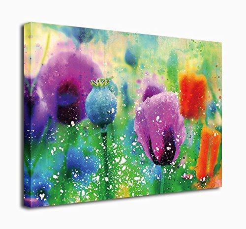 Canvas Prints Wall Art Tulip Painting Modern Artwork