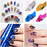 Nail Art Nail Sticker Decal Foil Beauty-Random Color 5Pcs