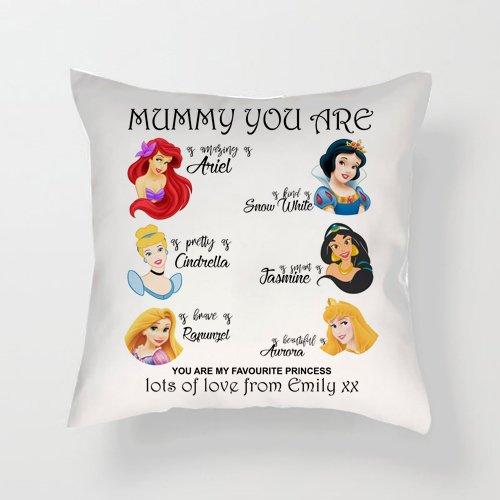 Hiros® Cojín personalizado regalo para mamá, mamá usted es ...