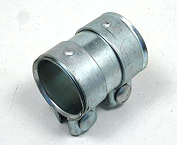 Universal Auspuffverbinder Verbinder Schelle Doppelschelle Ø 76-80,5mm L =125
