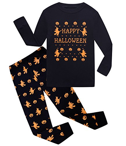boys halloween pajamas skeleton glow in the dark toddler pjs kids clothes shirts