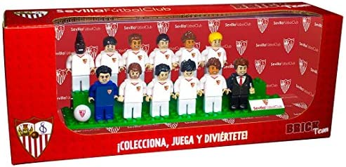 Eleven Force Brick Team Sevilla FC 2ª Edición: Amazon.es: Juguetes ...