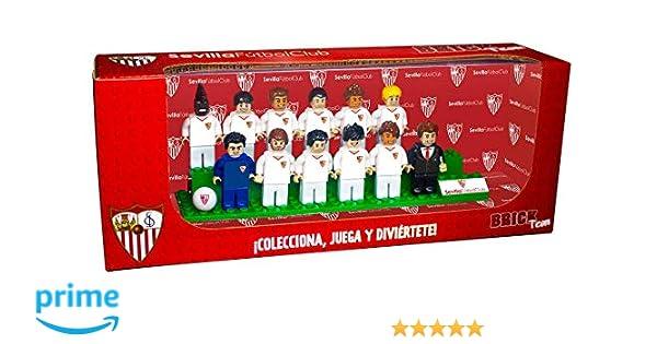 Eleven Force Brick Team Sevilla FC 2ª Edición: Amazon.es: Juguetes ...