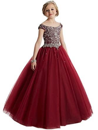 Rhinestone Ball Gowns