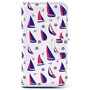 JJE Ship Passpoint Pattern PU Leather Full Body Case with Card Slot for Samsung Galaxy S3 Mini I8190