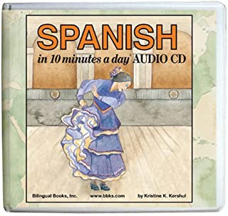 SPANISH in 10 minutes a day AUDIO CD Wallet - Library Edition