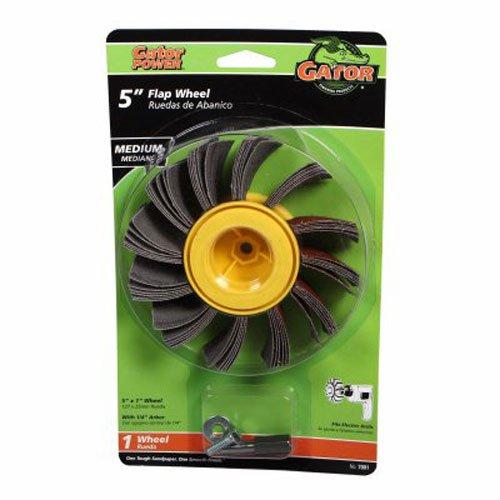 ALI INDUSTRIES 7001 Medium Sanding Wheel, 5-Inch x 1-Inch, 1 wheel by Ali Industries