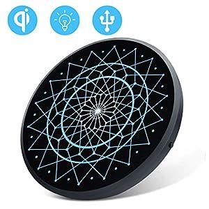 NILLKIN 魔法陣 Qi ワイヤレス充電器 15W(MAX) 10W 7.5W急速 ワイヤレス充電器