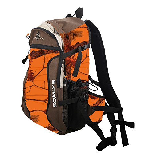 somlys Rucksack Camo Orange Fire