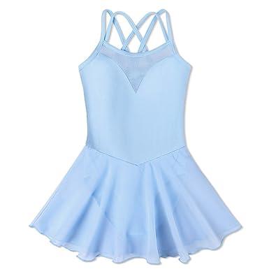 49b27b1eb Amazon.com  BAOHULU Girl s Ballet Dance Camisole Tutu Skirted ...