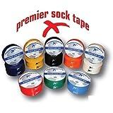 Premier Sock Tape Keeps Socks Up & Shinguards in Place Color White