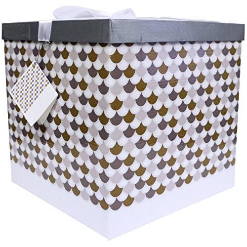 EndlessArtUS Sienna EZ Gift Box, Easy to Assemble and No Glue - Gift Large Box