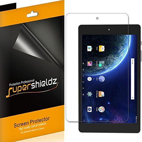 [3-Pack] Supershieldz for DigiLand 8-inch (DL8006) Screen Protector, Anti-Bubble High Definition Clear Shield + Lifetime Replacements Warranty