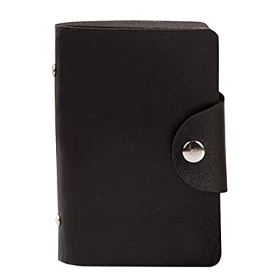 Funoc new 24 cards pu leather credit id business card holder pocket funoc new 24 cards pu leather credit id business card holder pocket wallet case reheart Images
