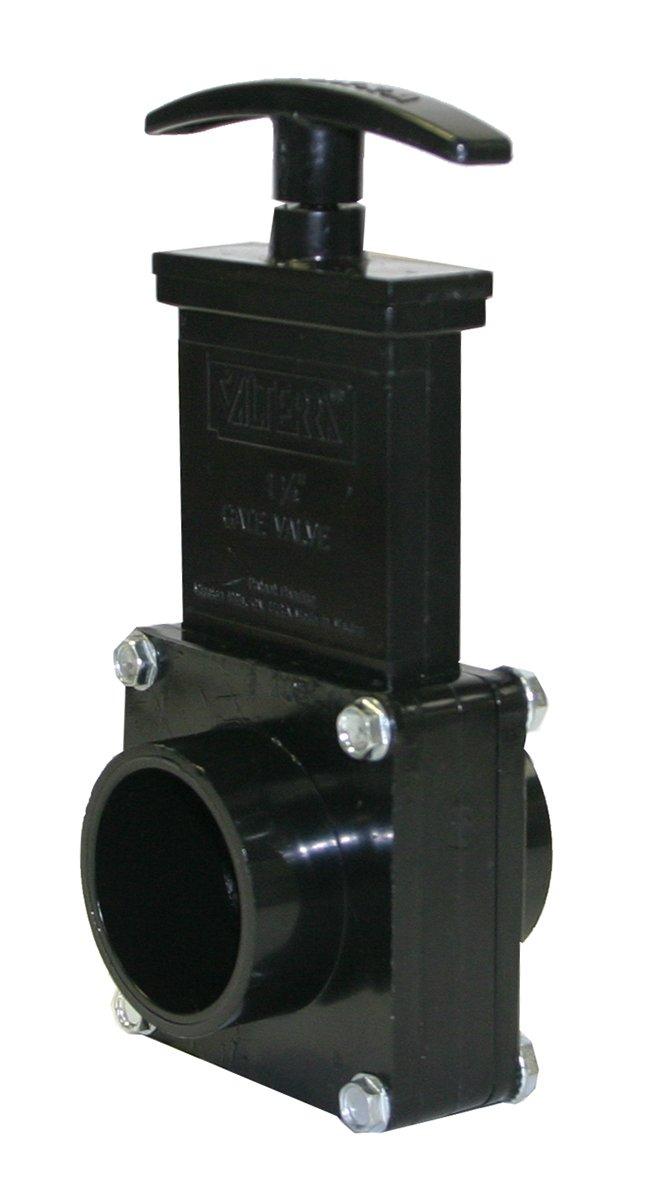 Valterra 7103 ABS Gate Valve 1-1//2 Spig 1-1//2 Spig Valterra Products Black