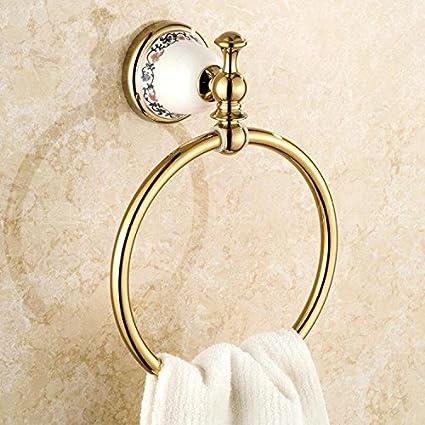 Accesorios de baño Yomiokla - Toalla de metal para cocina, inodoro, balcón y bañoEn el museo de ...