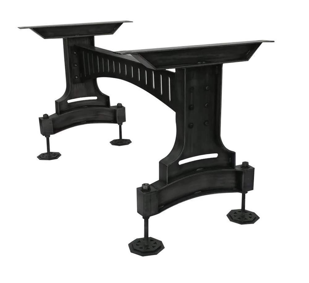 Pleasing Amazon Com Steampunk Metal Adjustable Table Base Dining Download Free Architecture Designs Embacsunscenecom