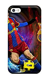 Cute Tpu Evelin Garza Lionel Messi Photos Case Cover For Iphone 5/5s