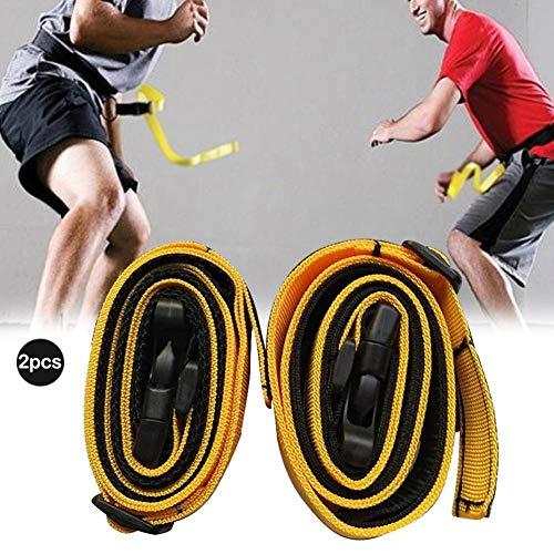 VOVI Speed Belt Response Belt ,2PCS Adult Children Speed Response Belt Waistband Agility Defensive Ability Training Equipment for Basketball Football