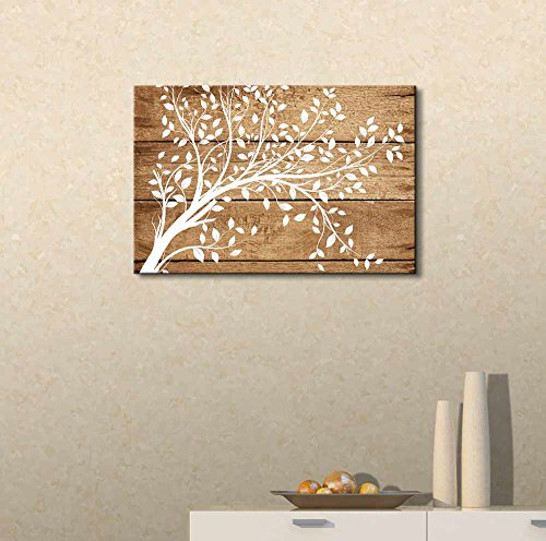 Artistic Abstract Flower on Vintage Wood Background