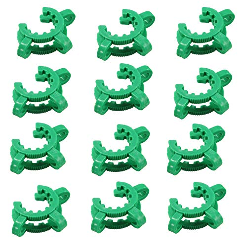 (12 pcs Keck Clips Ground Joints #24, Standard Taper POM for Joints 24/29 and 24/40)