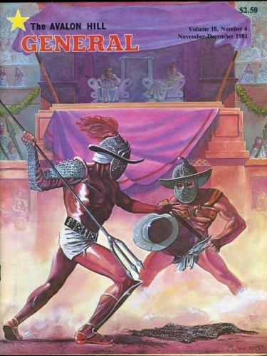 General Magazine - The Avalon Hill General: November-December 1981, Vol. 18, No. 4